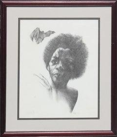 Portrait of a Woman Artist's Proof