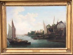 The Thames at Lambeth Palace