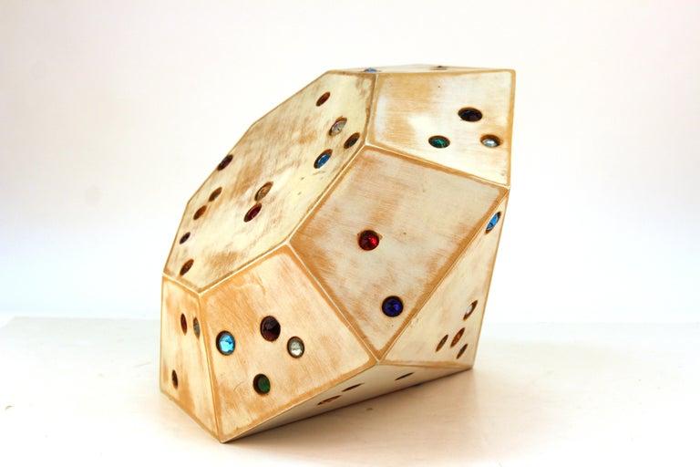Late 20th Century John Torreano Modern Jewel Sculpture For Sale