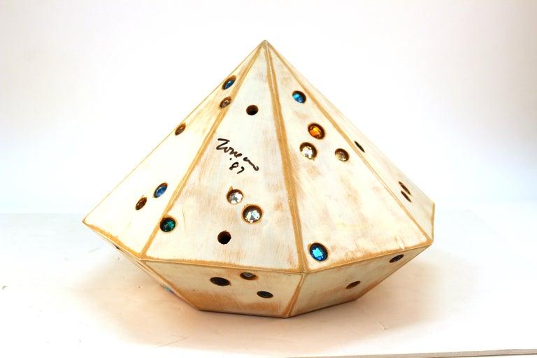 John Torreano Modern Jewel Sculpture For Sale 1