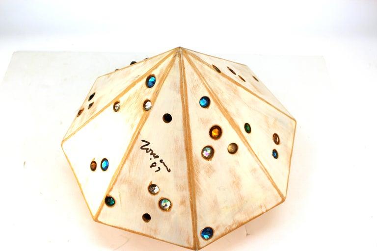 John Torreano Modern Jewel Sculpture For Sale 3