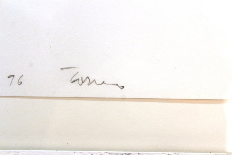John Torreano Modern Watercolor of Jewels, Signed For Sale 1