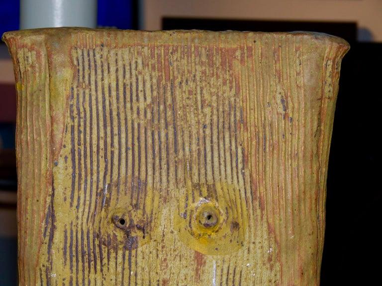 John Tuska Unsigned Pottery Vase For Sale 6