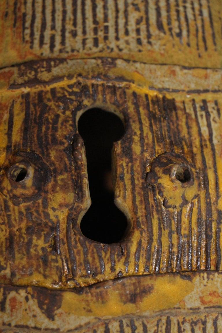 John Tuska Unsigned Pottery Vase For Sale 1
