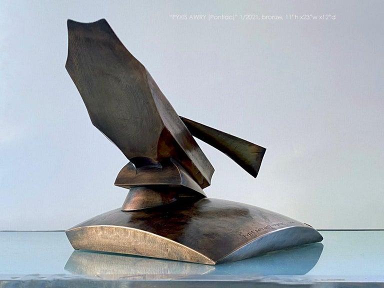 Pyxis Awry 2021 (pontiac) - Sculpture by John Van Alstine