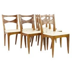 John Van Koert For Drexel Mid Century Dining Chairs, Set of 6