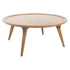John Van Koert for Drexel Midcentury Round Coffee Table