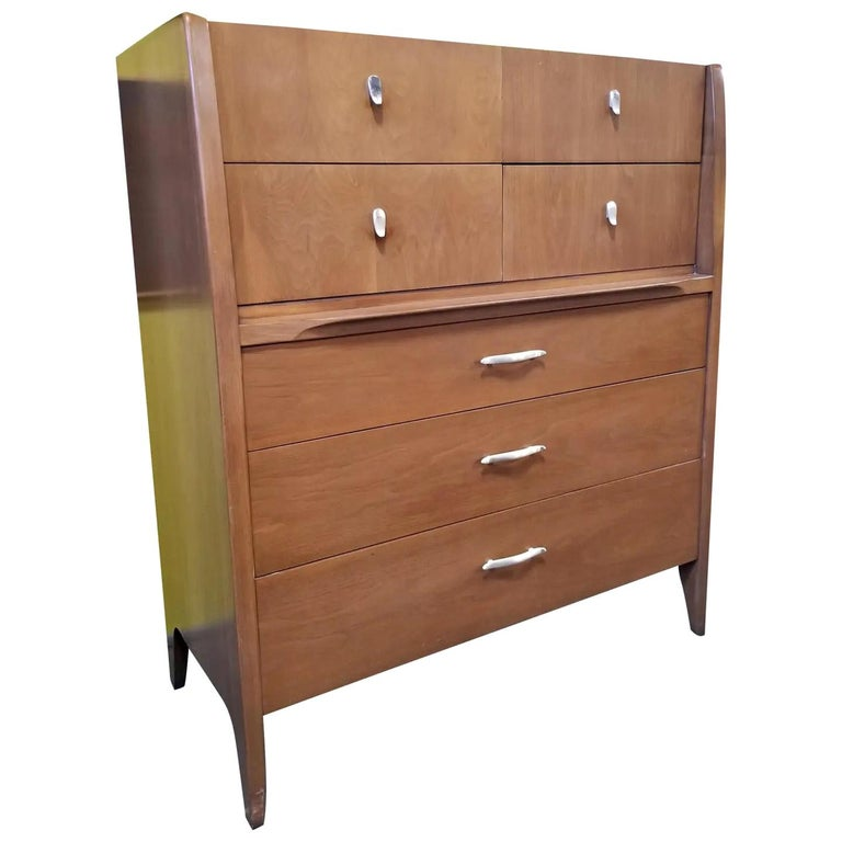 John Van Koert Midcentury Tall Dresser For Sale