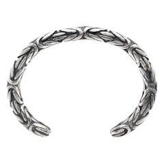 John Varvatos Sterling Silver Men's Cuff Bracelet