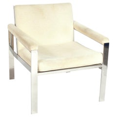 John Vesey Clean Lined Lounge Chair