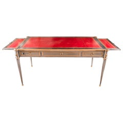 John Vesey Stainless and Ormolu Executive Desk