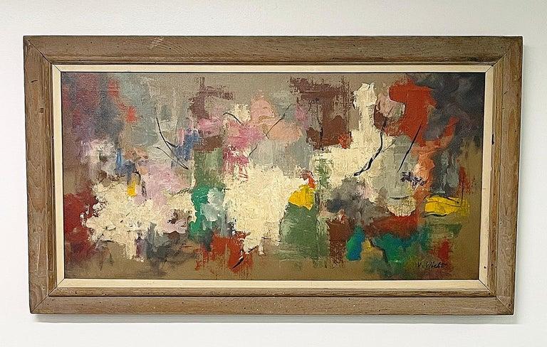 Untitled - Painting by John von Wicht
