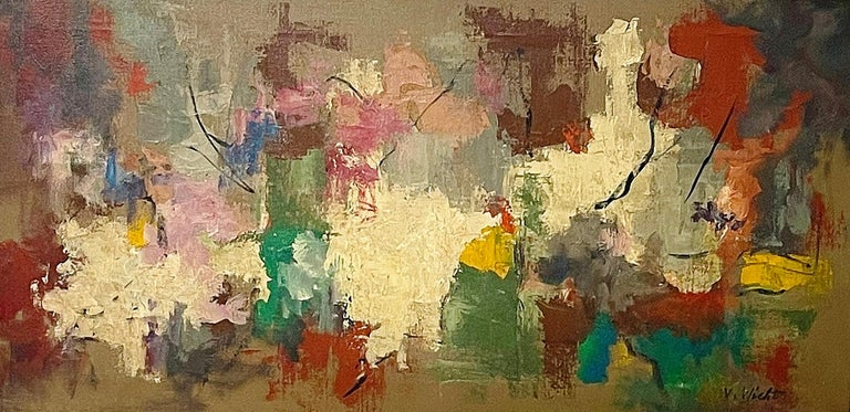 John von Wicht Abstract Painting - Untitled
