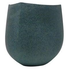 John Ward, Britisches Steinzeug Gefäß, Signiert