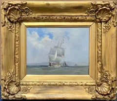 19th century English ship, H.M.S Undoubted of Hurst Castle, Isle of White