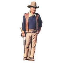 John Wayne Silhouette, from a Traveling Cinema, 1980-1997