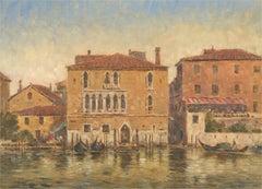 John Weston Gough (1929-2019) - 20th Century Oil, Venice in the Sun