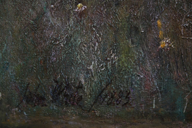 Over the Sea - Sennen - British 19thC Newlyn School oil painting women seascape 6