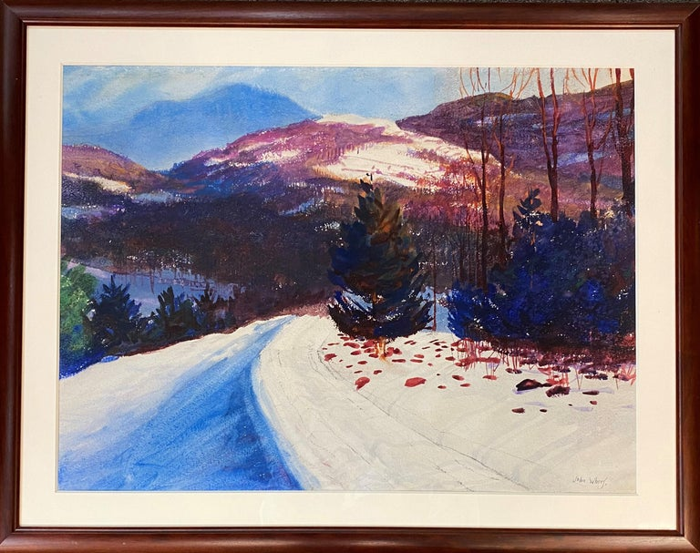 John Whorf Landscape Painting - Equinox Mountain, VT