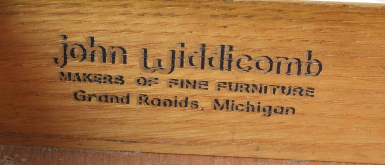 Mid-20th Century John Widdicomb Desk by Dale Ford For Sale