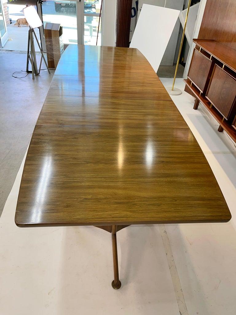 John Widdicomb Extension Dining Table by J. Stuart Clingman 6