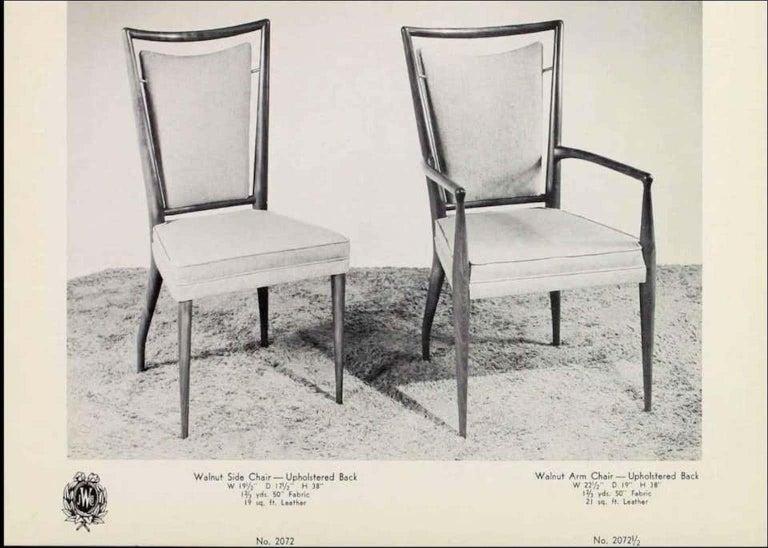 John Widdicomb Extension Dining Table by J. Stuart Clingman 13