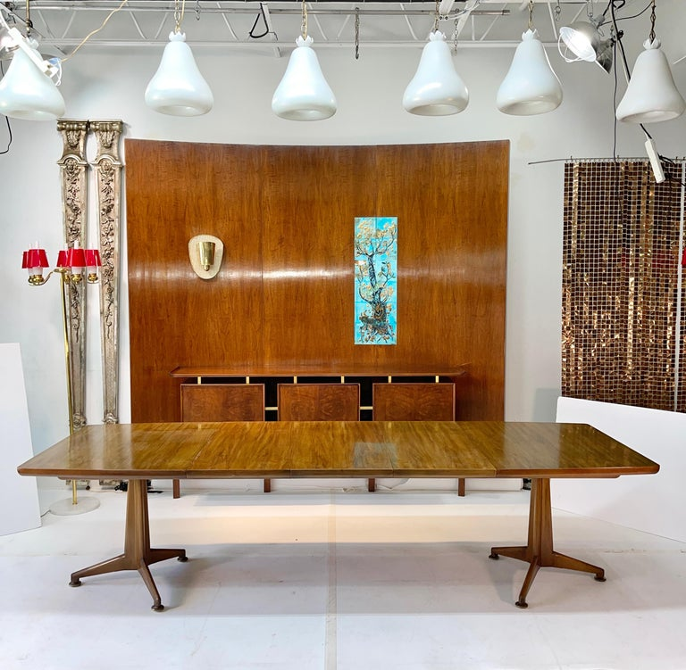 American John Widdicomb Extension Dining Table by J. Stuart Clingman