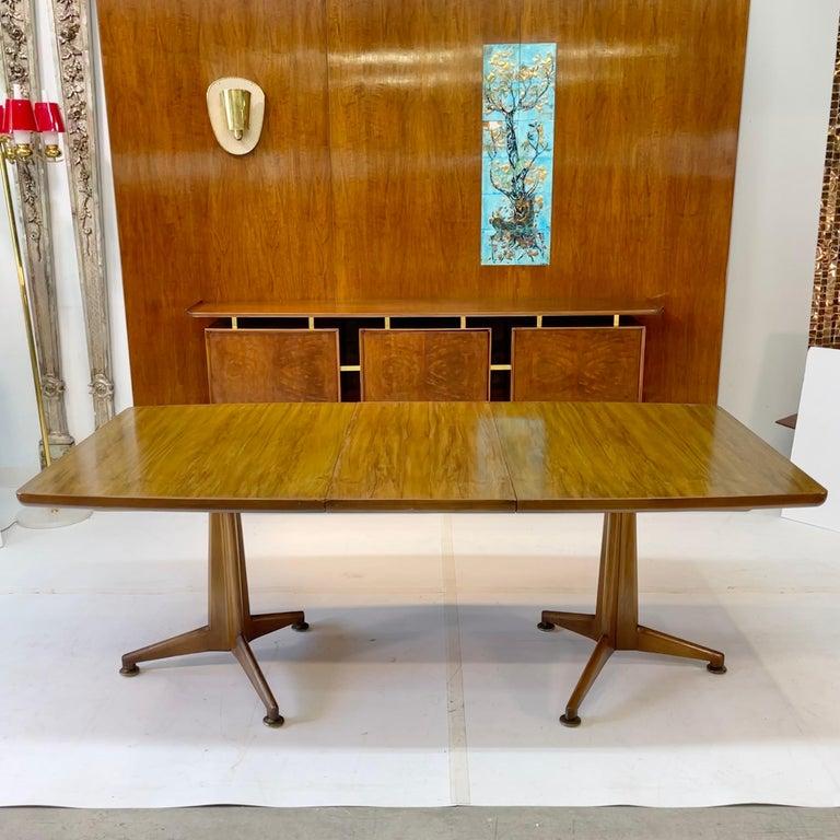 Mid-20th Century John Widdicomb Extension Dining Table by J. Stuart Clingman