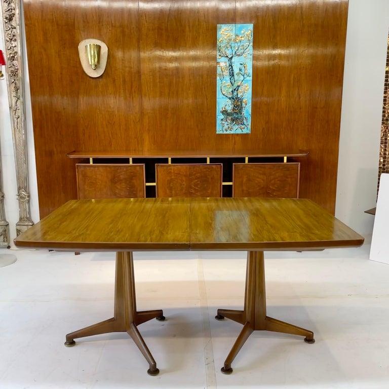 John Widdicomb Extension Dining Table by J. Stuart Clingman 1