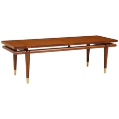 John Widdicomb Floating Top Coffee Table