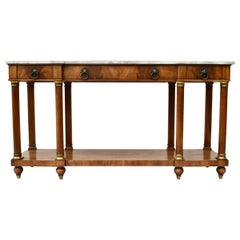 John Widdicomb French Neoclassical Style Server or Console Table