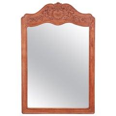 John Widdicomb French Provincial Louis XV Carved Oak Wall Mirror