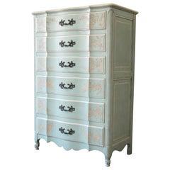 John Widdicomb French Provincial Louis XV Style Highboy Dresser