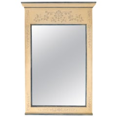 John Widdicomb Hand Painted Wood Mirror