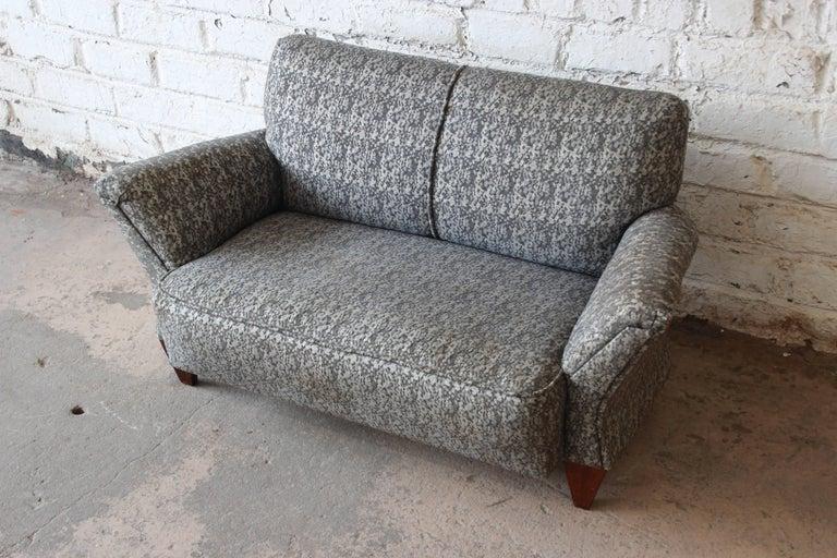 American John Widdicomb Mid-Century Modern Salesman Sample or Child's Sofa, 1956 For Sale