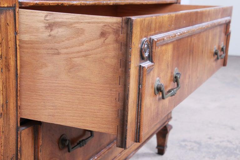 John Widdicomb Mid-Century Modern Walnut Armoire Dresser, circa 1960s 5