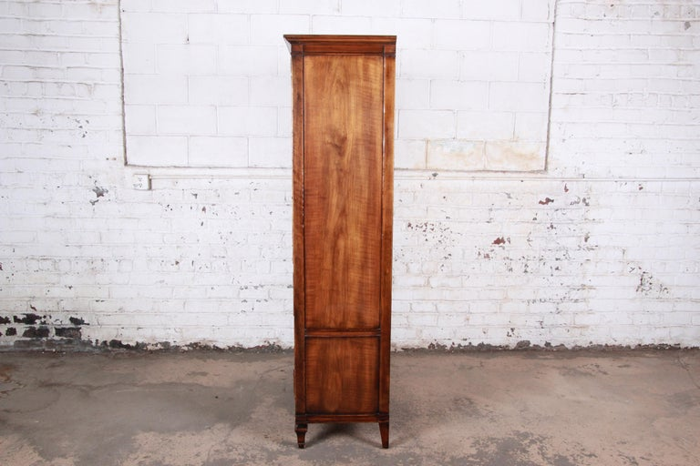 John Widdicomb Mid-Century Modern Walnut Armoire Dresser, circa 1960s 6