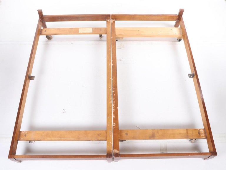John Widdicomb Tall Post King Bed Headboard For Sale 3
