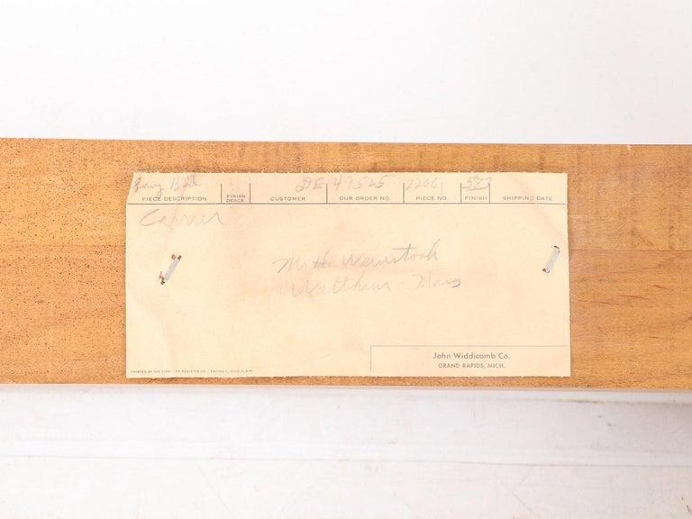 John Widdicomb Tall Post King Bed Headboard For Sale 5