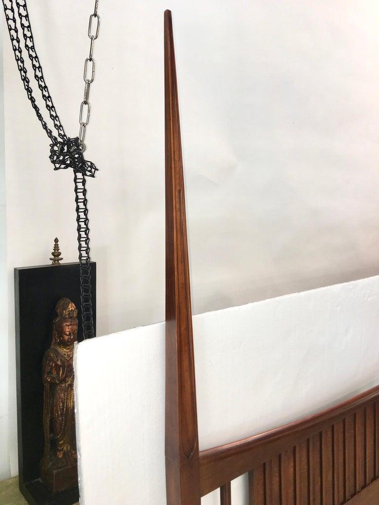 John Widdicomb Tall Post King Bed Headboard For Sale 6