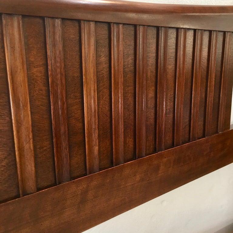 John Widdicomb Tall Post King Bed Headboard For Sale 9