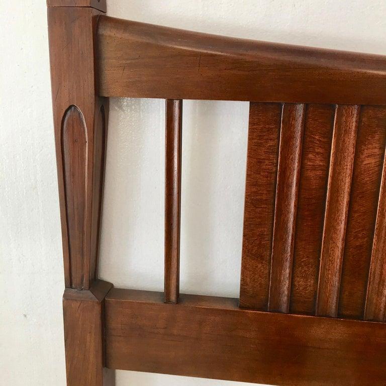 John Widdicomb Tall Post King Bed Headboard For Sale 10