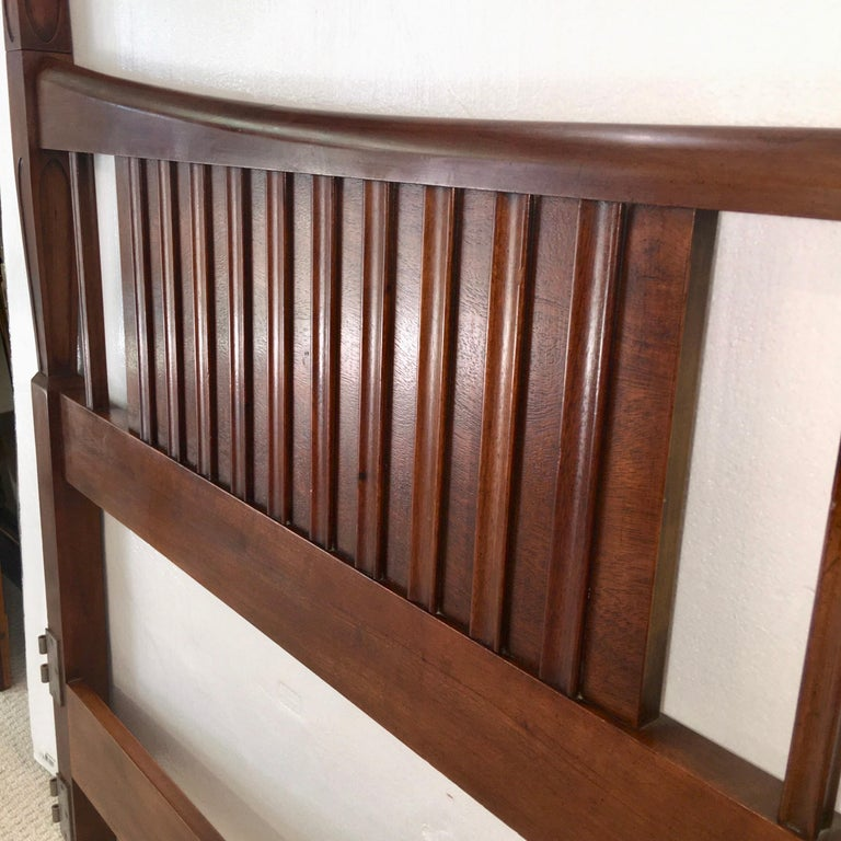 John Widdicomb Tall Post King Bed Headboard For Sale 1