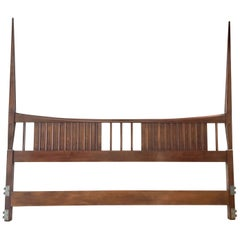 John Widdicomb Tall Post King Bed Headboard