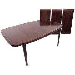 John Widdicomb Walnut Dining Table