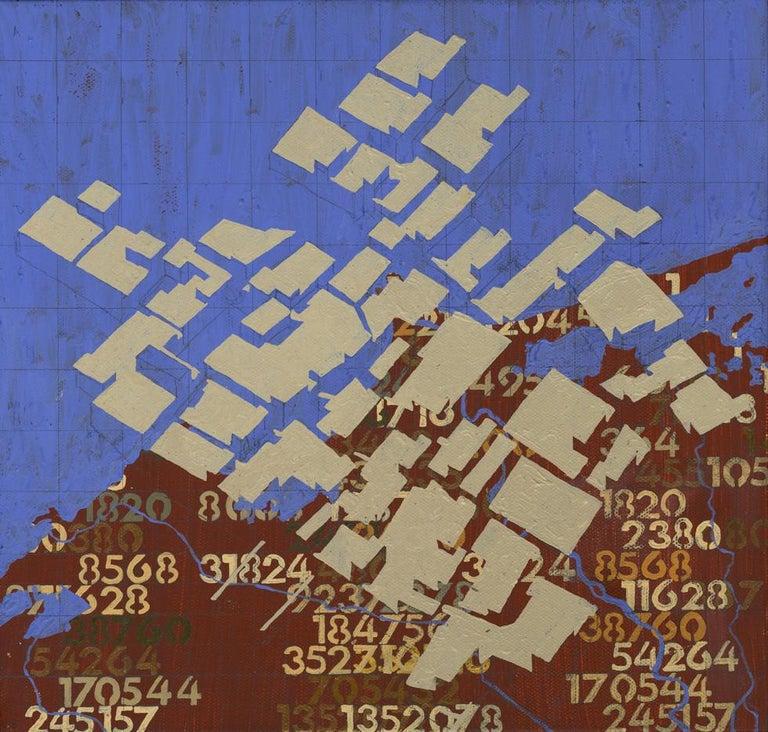 John William Bailly Abstract Painting - Rosetta