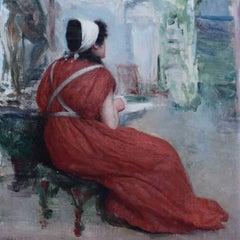 John William Waterhouse Italian Girl