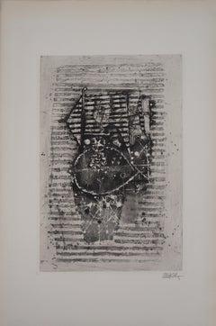 Fishes - Original Handsigned Etching, 1963