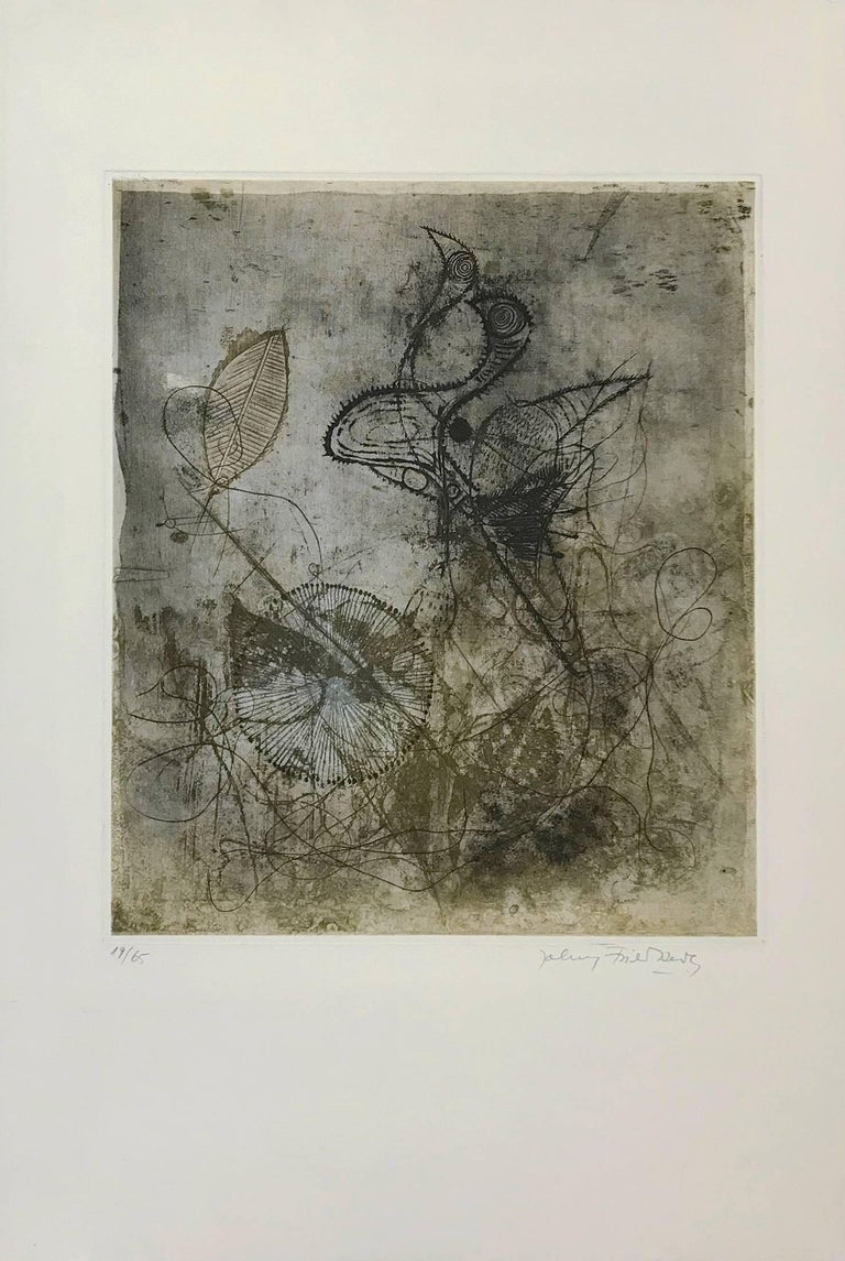 FRE SOLEOL BLEU - Print by Johnny Friedlaender