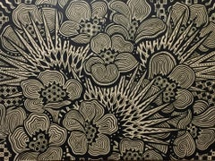 Fan Palm Floral, Original Painting